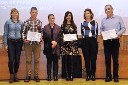 Alquiler de Autocaravanas, MbS Comunicación y Latorre Taxi, premios 'Monta tu Empresa 2016' de Ejea