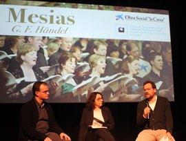 Más de 200 cantantes aficionados participarán en el concierto 'El Mesías'
