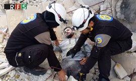 Los 'cascos blancos' se disculpan por un 'Mannequin Challenge' en Siria