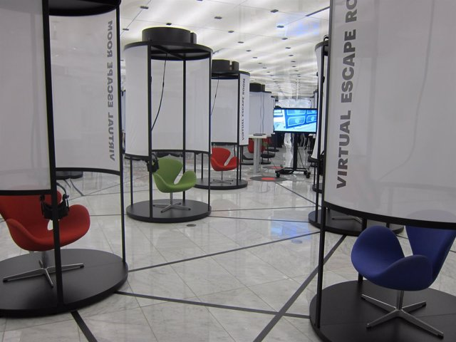 Exposición 'A mobile story' en el Mobile World Centre de Barcelona