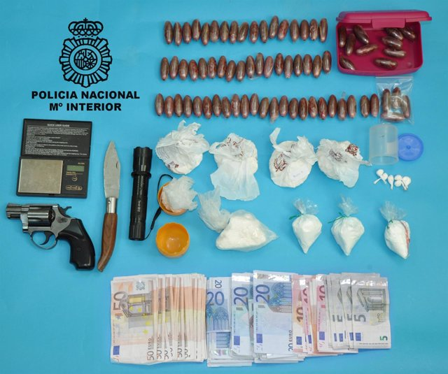 Droga incautada en Ferrol