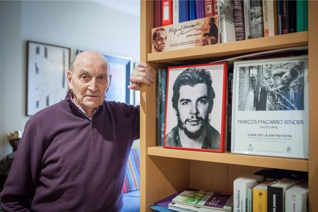 El poeta antifranquista Marcos Ana