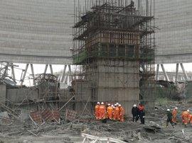 Asciende a 74 el balance de muertos tras caer un andamio en una central eléctrica en China
