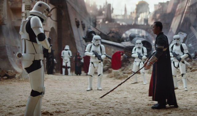 Rogue One: A Star Wars Story, planeta Jedha