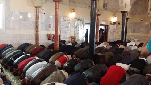 Musulmanes oración Mezquita M-30