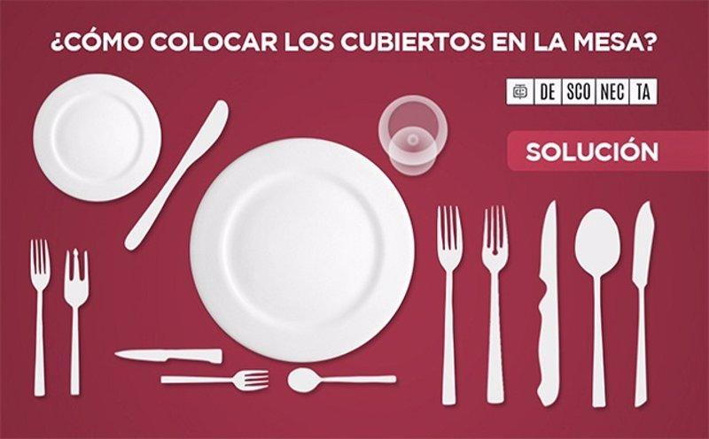 Sabes usar bien los distintos tipos de cubiertos en la mesa for Clases de cuchillos de mesa