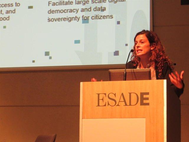 Francesca Bria, Comisionada de Tecnología e Innovación Digital