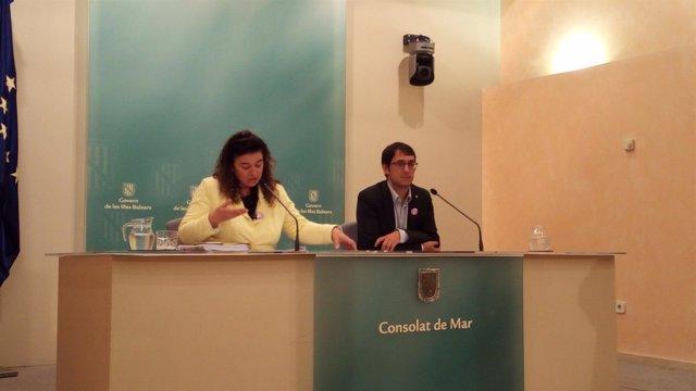 Rueda de prensa tras el Consell de Govern del 25 de noviembre