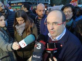 """Iceta comparte con Díaz """"no romper la soberanía nacional"""" pero lo ve compatible con llamar """"nación"""" a Cataluña"""