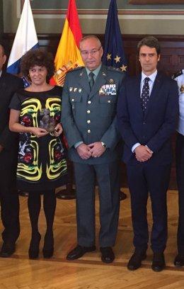 La magistrada María Auxiliadora Díaz