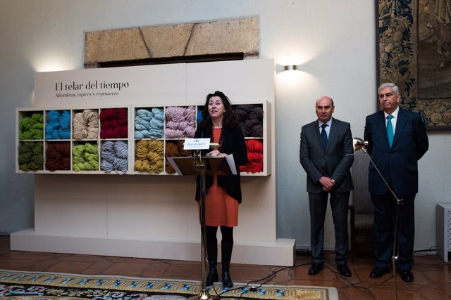 Paradores De Turismo Y La Real Fábrica De Tapices Presentan La Exposición El Tel