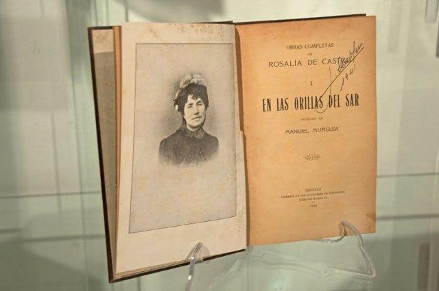 Exposición de libros de mujeres que se puede ver en Cáceres