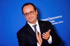 """Hollande destaca que se ha evitado en Francia """"un ataque de gran envergadura"""""""