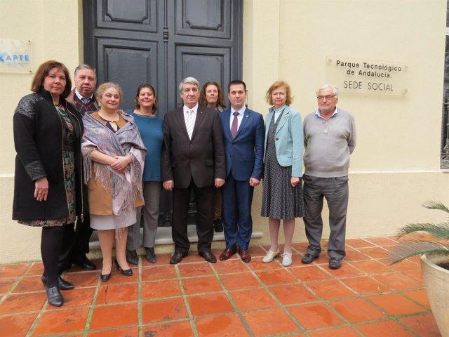 Visita de una delegación rusa al PTA