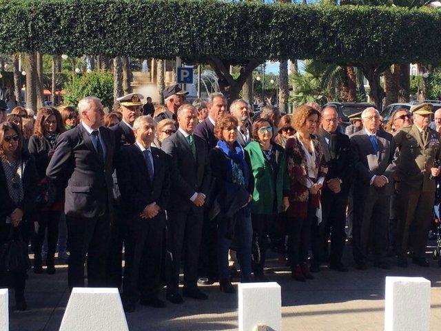 Concentración contra la violencia de género en Melilla