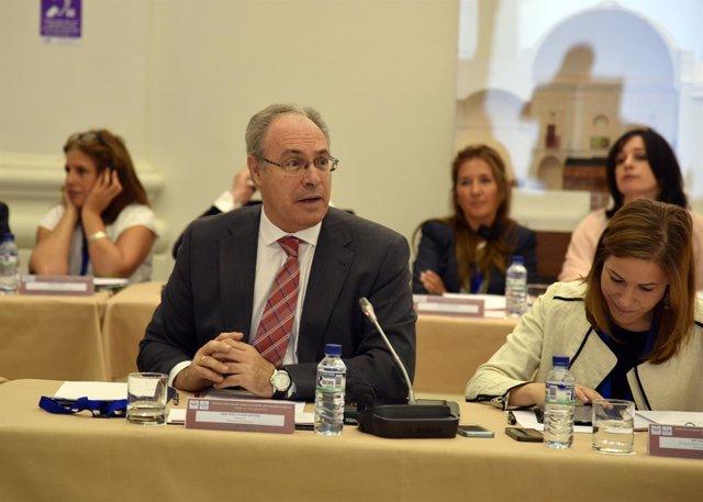El presidente del Parlamento andaluz, Juan Pablo Durán