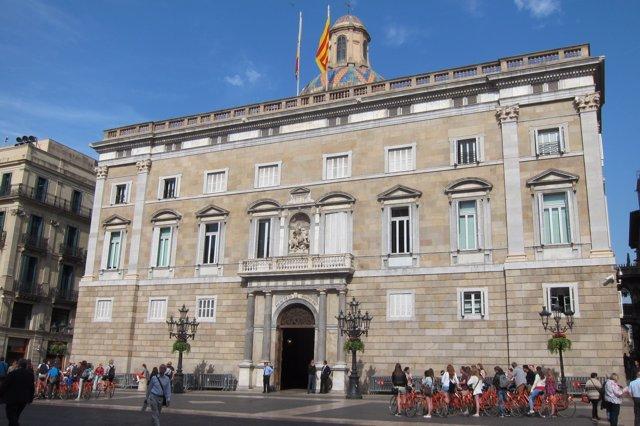 Palau de la Generalitat, plaza de Sant Jaume