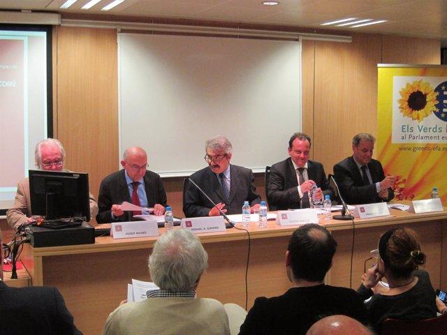 Josep Niubó,Miguel Angel Gimeno,Isidoro García,Pedro Horrach,Juan Pablou Yubero