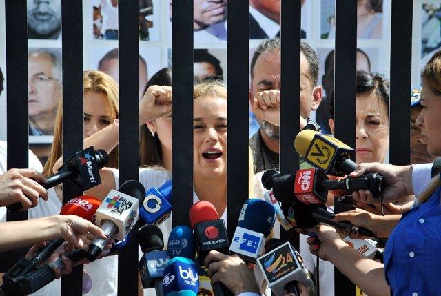 La activista venezolana Lilian Tintori