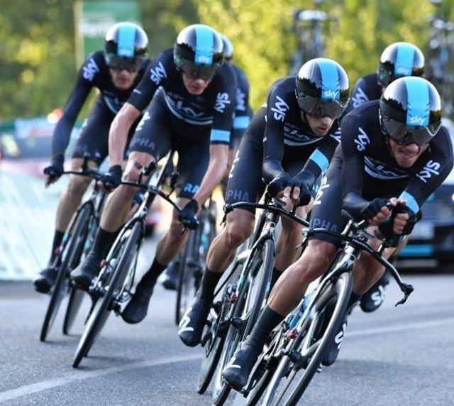 Team Sky Vuelta España