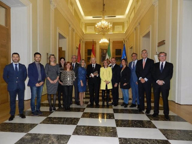 Reunión de alcaldes de Ciudades Patrimonbio en Cáceres