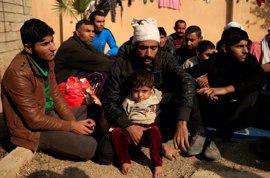 Los habitantes de las zonas liberadas de Mosul se enfrentan ahora al hambre