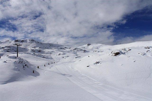 Estación de esquí de Sierra Nevada, en Granada