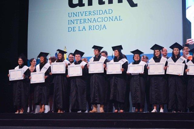 Graduación UNIR en Colombia