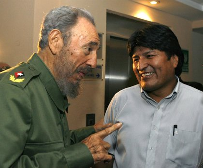 "Evo Morales: ""Duele mucho la partida del Comandante"""