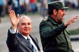 """Gorbachov se despide de Castro como un """"amigo hasta el final"""" y lamenta el daño causado por el fin de la URSS"""