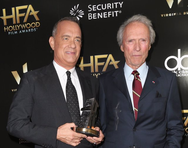 Tom Hanks y Clint Eastwood