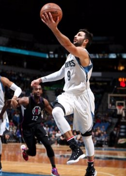 Ricky Rubio Minnesota Timberwolves Los Angeles Clippers