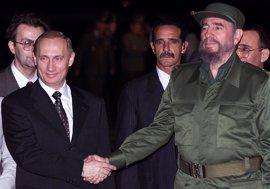 """Putin celebra la figura de Castro como """"el símbolo de toda una era en la historia del mundo"""""""