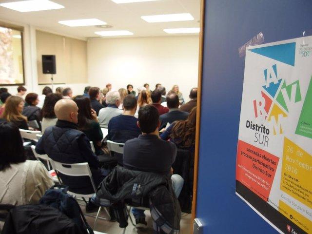 Jornadas del proceso participativo de Distrito Sur.