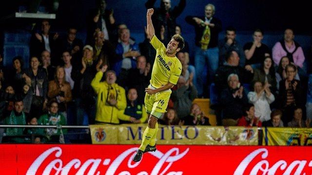 Manu Trigueros con el Villarreal