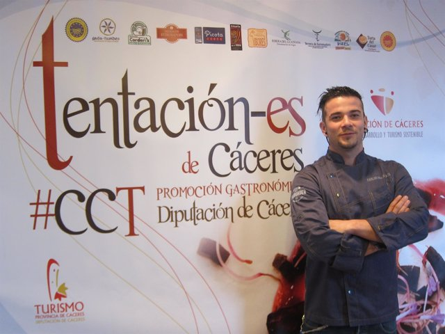 Carlos Maldonado clausura Tentación-es en Cáceres