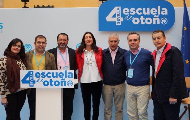 Inauguración de la cuarta Escuela de Otoño del PP de Sevilla