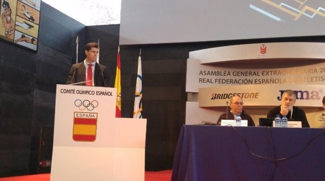Raúl Chapado presidente Real Federación Española Atletismo