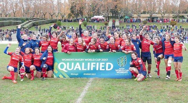 Selección Española Femenina de Rugby XV leonas