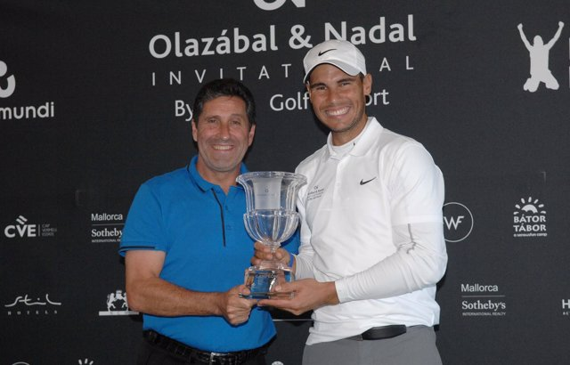 José María Olazábal Rafa Nadal Olazábal&Nadal Invitational by Pula Golf Resort