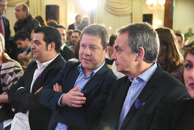 Zapatero y Page