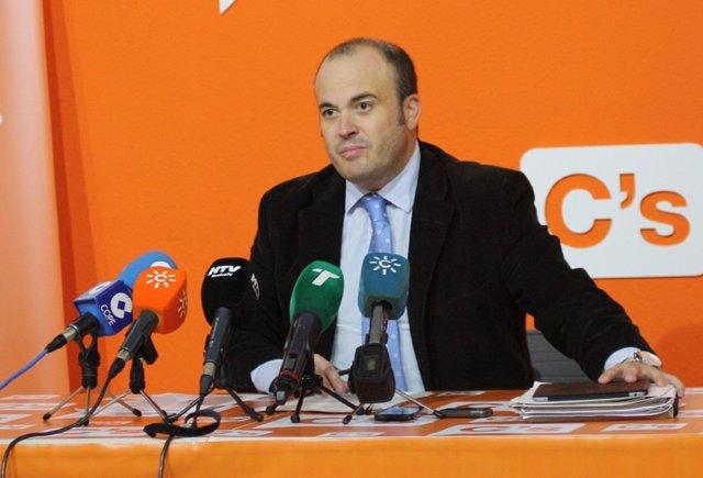 El parlamentario andaluz de Ciudadanos Julio Díaz