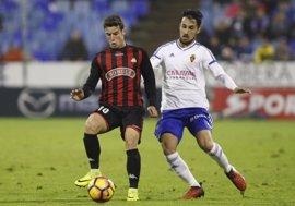 El Reus empata en Zaragoza y el Oviedo cae con estrépito en Alcorcón