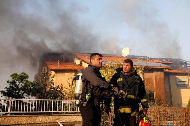 Incendios en Israel