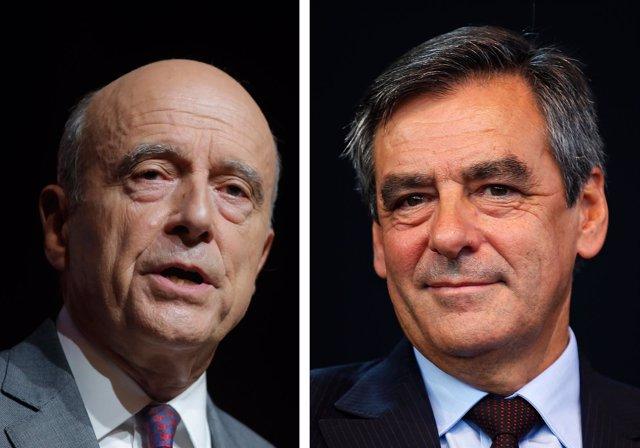 Juppé y Fillon, candidatos en la segunda vuelta de las primarias
