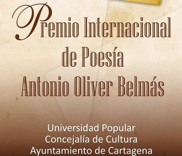 Premio de Poesía Antonio Oliver Belmás