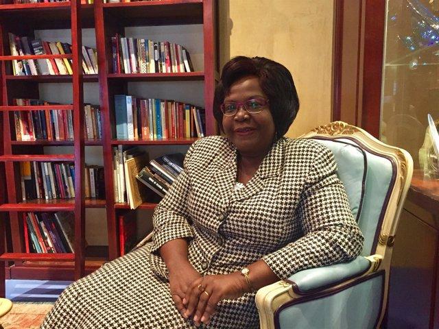 Kafui Adjamagbo-Johnson, abogada, política y defensora de los DDHH Togo