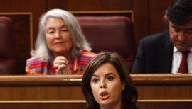 PSOE, PSC y PDECat pedirán esta semana a Santamaría que detalle sus planes para Cataluña