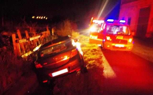 Accidente de tráfico en Peralta