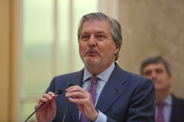 El ministro de Cultura, Iñigo Méndez de Vigo